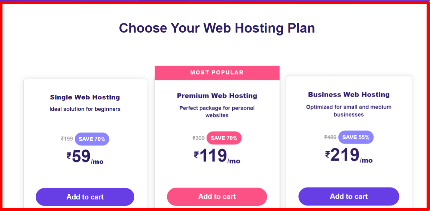 Choose Your Hostinger Plan