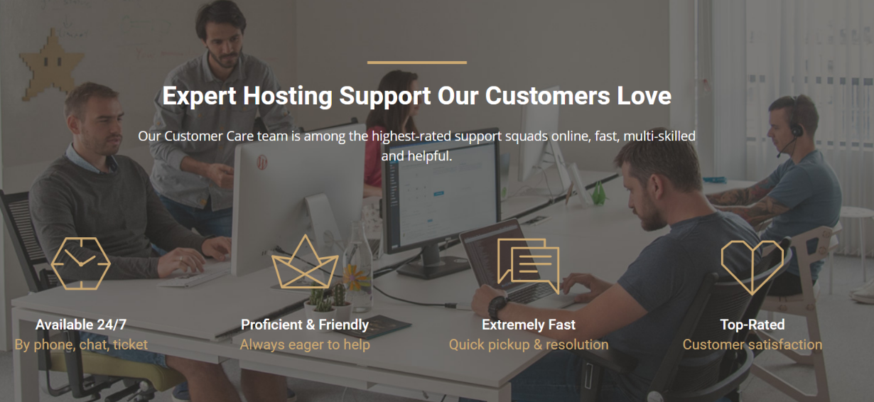 Support Our Customers Love - SiteGround