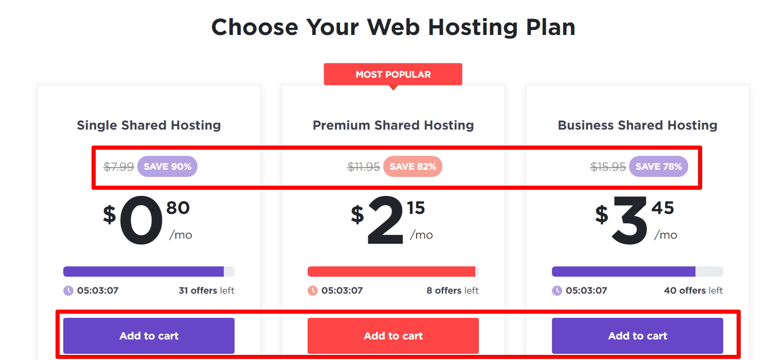 choose hosting plans hostinger 2